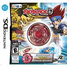 EXCLUSIVE Nintendo DS BEYBLADE Metal Fusion Game with RED PEGASUS 100HF INCLUDED!