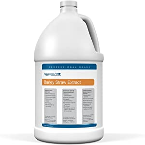 Aquascape PRO Contractor Grade Barley Straw Extract for Pond Water Maintenance, Liquid, 1-gallon   98906
