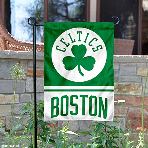 WinCraft Boston Celtics Double Sided Garden Flag by WinCraft