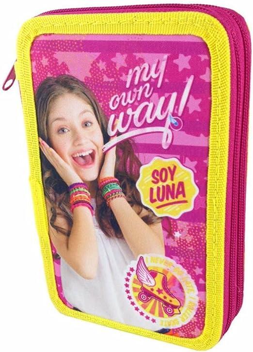 Plumier Soy Luna Enjoy Love doble: Amazon.es: Juguetes y juegos