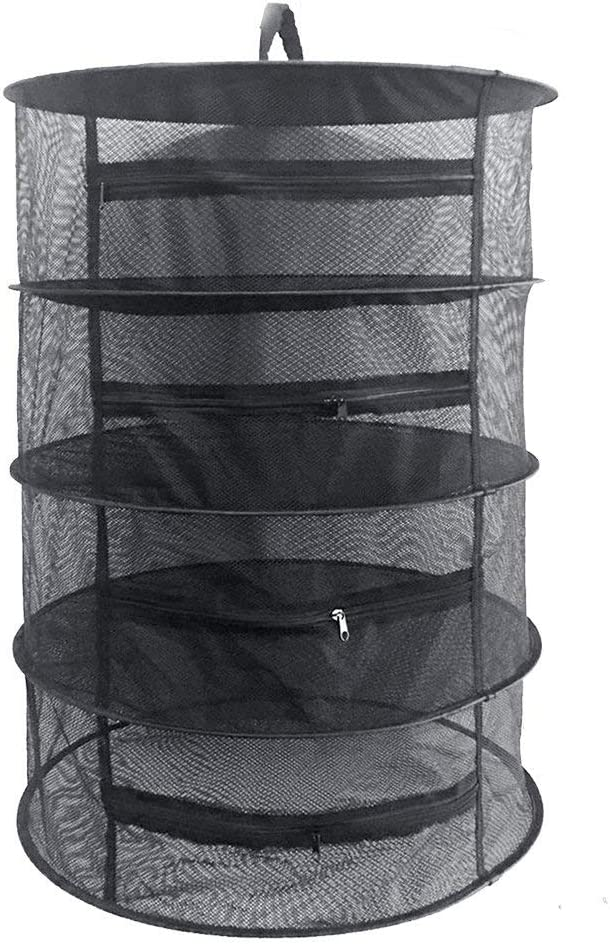 Hanging Dryer Rack with Zipper