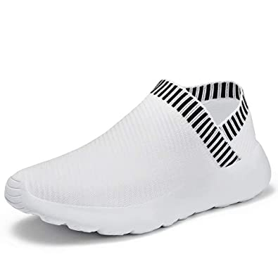 Konhill Athletic Casual Gym Slip-on Sneakers