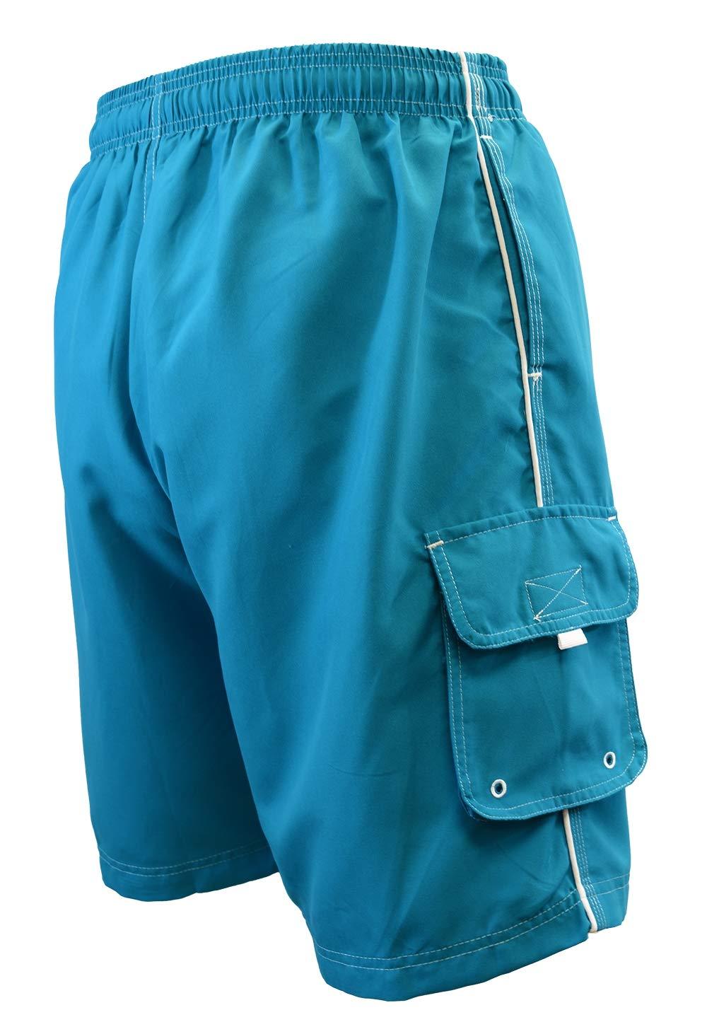 6a8ce026fb Amazon.com: Adoretex Men's Swim Trunks Watershort Swimsuit with Mesh Liner:  Clothing
