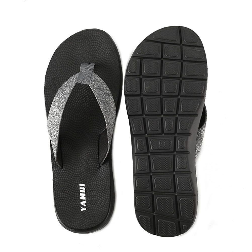 LOVE YANQI Men&Womens Flip Flops Fashion Casual Beach Slippers Sandals Anti-Slip Breathable Fit for Summer by LOVE YANQI (Image #5)