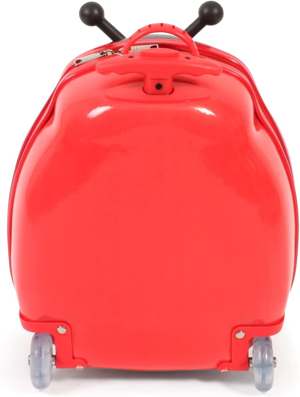20 liters Rot Bayer Chic 2000 Bouncie Kinder-Trolley mit 3D-Marienk/äfer-Motiv Bagage Enfant 40 cm Rouge