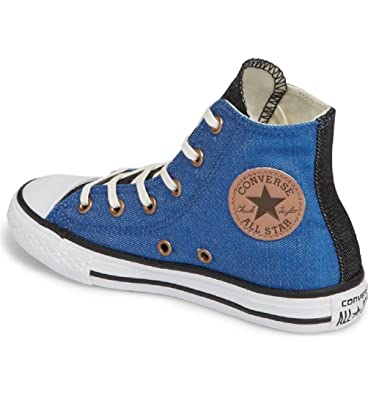 Converse Chuck Taylor All Star Chambray High Top Sneaker (12 M US Little  Kid)