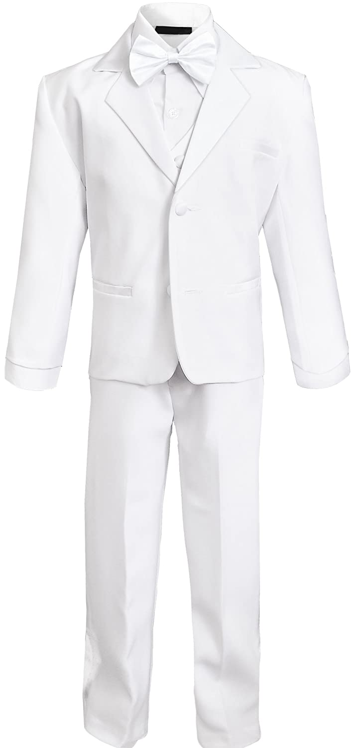 Black n Bianco Baby Boys and Infants Tuxedo with No Tail Black