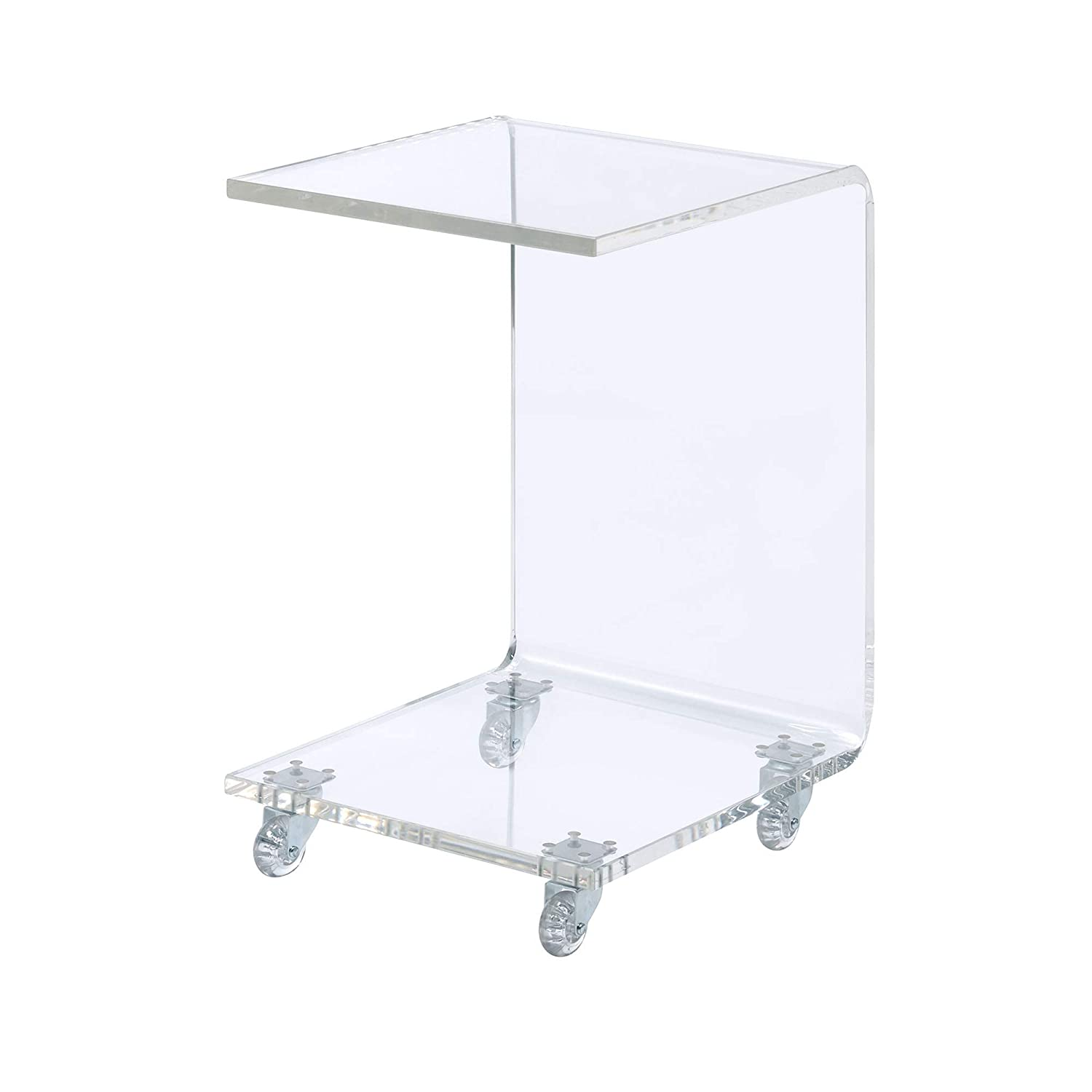 Abbey Avenue at-CEL-STBE Celine Snack Table Clear