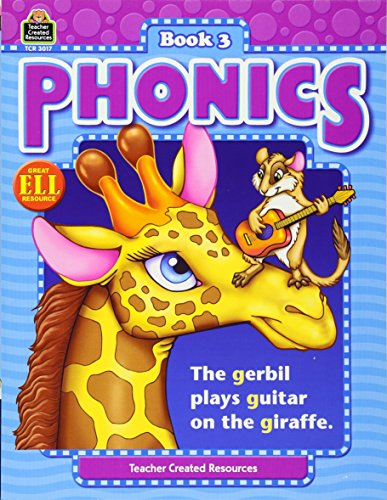 Phonics Book 3 (Phonics (Teacher Created Resources)) (Teacher Book Material Resource)