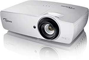 Optoma WU465 WUXGA DLP Professional PC-Free Projector | High Bright 4800 Lumens | Present Wirelessly in Business Presentations & Classrooms | Crestron Compatible | 1.5X Zoom