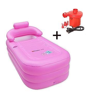 Daisy Aufblasbare Badewanne Für Erwachsene, PVC Tragbar Faltbare Badewanne  W/Multi Elektrische Luftpumpe (