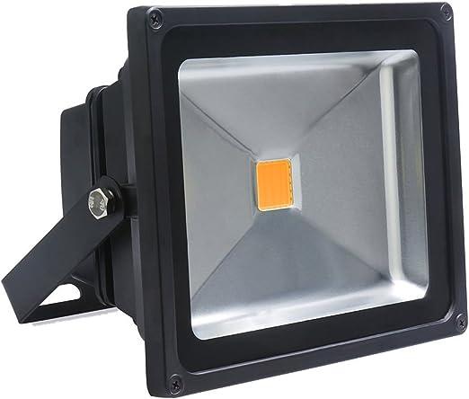 Auralum à 30W IP65 LED Projecteur Lumière Blanc chaud 2800