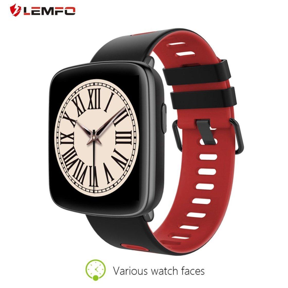 Amazon.com: LEMFO GV68 Smart Watch Waterproof Heart Rate ...