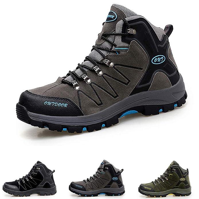 LSYSAG - Zapatillas de Senderismo para Hombre: Amazon.es: Zapatos y complementos