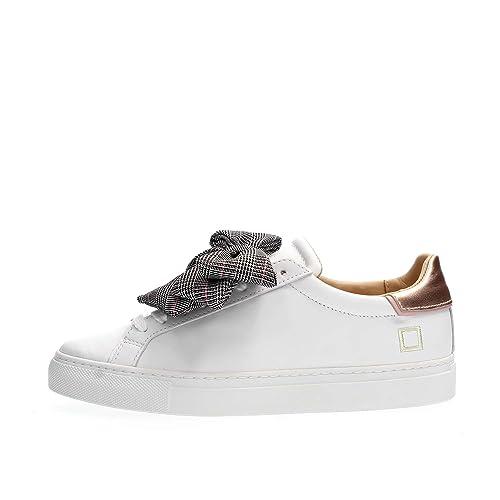 ea8c9da777 BOW CHECK - Sneakers Fiocco Fondo Cassetta: Amazon.it: Scarpe e borse