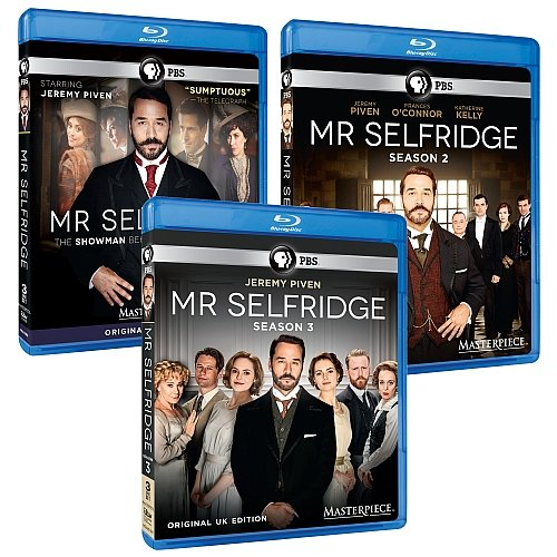 Masterpiece: Mr. Selfridge Seasons 1, 2 & 3 Bluray Collection