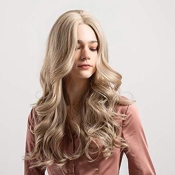 Amazon.com: Pelucas de pelo ondulado rizado largo para mujer ...