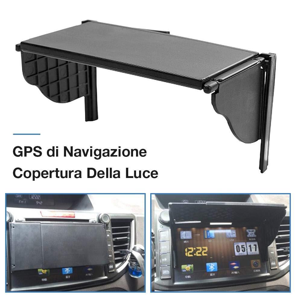 Auto Multiuso da 5,5-10 Pollici Navigazione GPS per Auto Copertura Universale della Luce della barriera Navigatore GPS Parasole Parasole Current Nice biteatey Copertura della Luce di Navigazione GPS