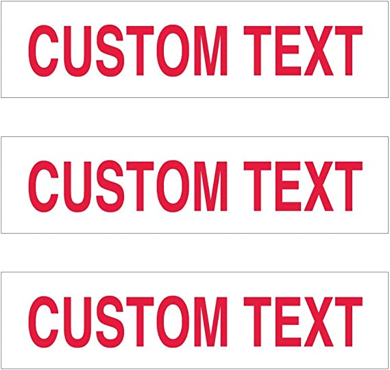 EXP realty sign riders 6x24-4 mm corrugated board two sided set of THREE signs