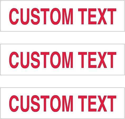 Amazon.com: Custom Rider Sign T de – 6 pulgadas x 24 ...