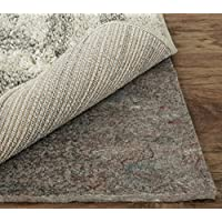 Mohawk Home Dual Surface Felt and Latex Non Slip Rug Pad, 2x4, 1/4 Inch Thick, Safe for Hardwood Floors and All Surfaces