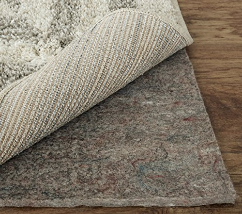 Mohawk Home Dual Surface Felt and Latex Non Slip Rug Pad, 3'x5', 1/4 Inch Thick, Safe for Hardwood Floors and All - 2'6 Area Rug Inch Multi 10' X