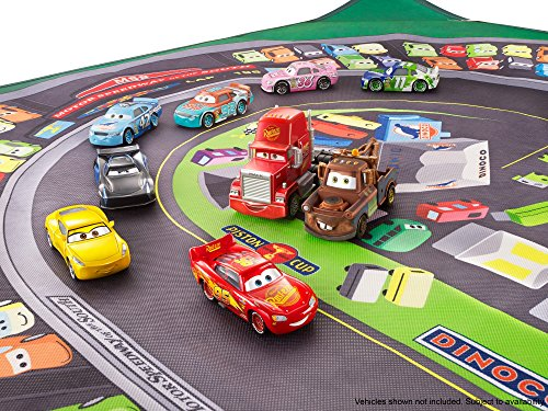 Disney Cars Fgv15 Cars 3 Piston Cup Playmat Amazon Co Uk Toys Games