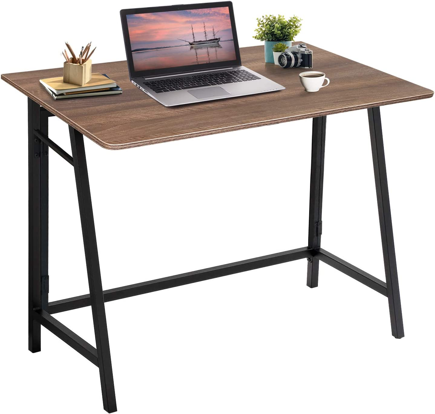 Jolicasa No Assembly Folding Desk