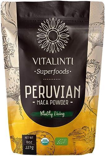 Maca peruana en polvo Vitalinti 227g: Amazon.es: Alimentación y bebidas
