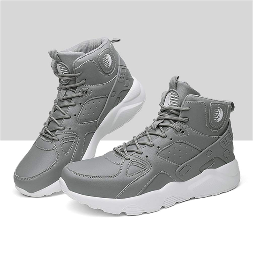 d42d78b477590c Qianliuk Men Sports Shoes Sneakers Wear-Resisting Non-Slip Solid Basketball  Shoes High Top Male Ankle Boots  Amazon.co.uk  Shoes   Bags
