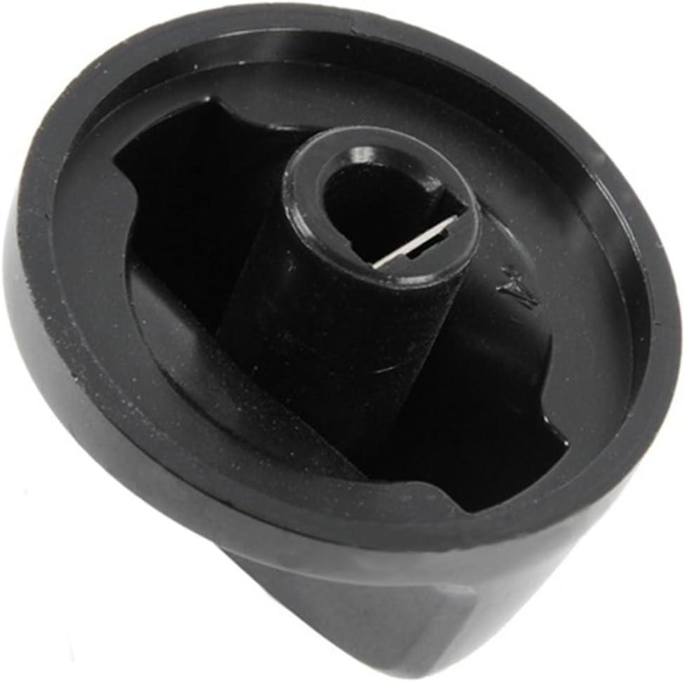 Electrolux Cooker Oven Hob Control Knob Dial Black
