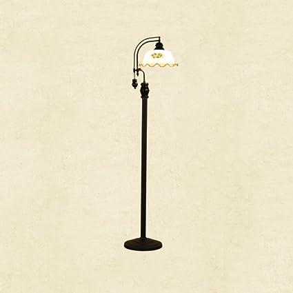 WXH Lámpara de pie - Vintage Lámpara de pie de Hierro ...