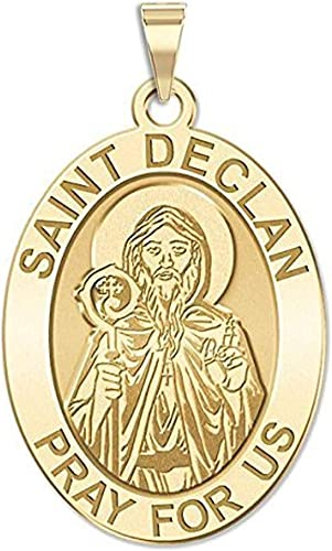 2//3 Inch Size of Dime PicturesOnGold.com Saint Peregrine Religious Medal Sterling Silver
