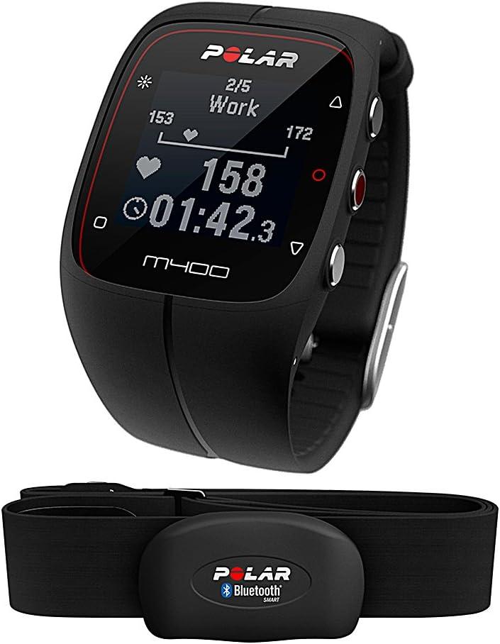 Polar M400 - Reloj de entrenamiento con GPS integrado y registro ...