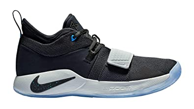 4d49defb049 Image Unavailable. Image not available for. Color  Nike PG 2.5 - Men s Paul  George Nylon Black Photo Blue Basketball Shoes ...