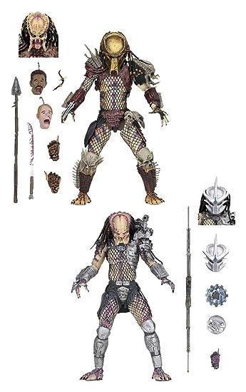NECA - Predator - 7? Scale Action Figures - Ultimate Bad Blood vs Enforcer 2-Pack