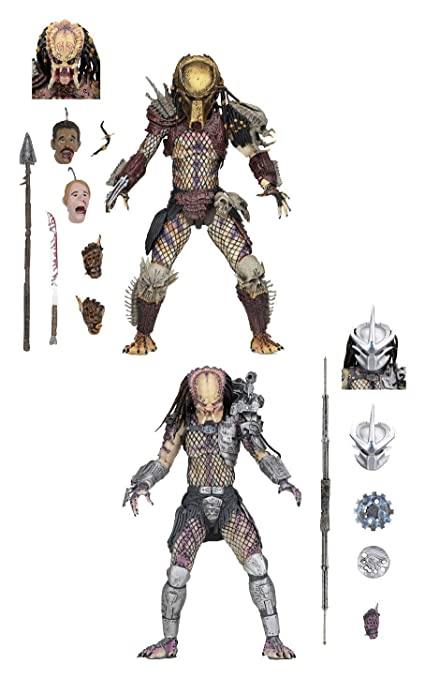 Neca - Figurine Predator - 2-Pack Bad Blood & Enforcer Predators 20cm -  0634482515709
