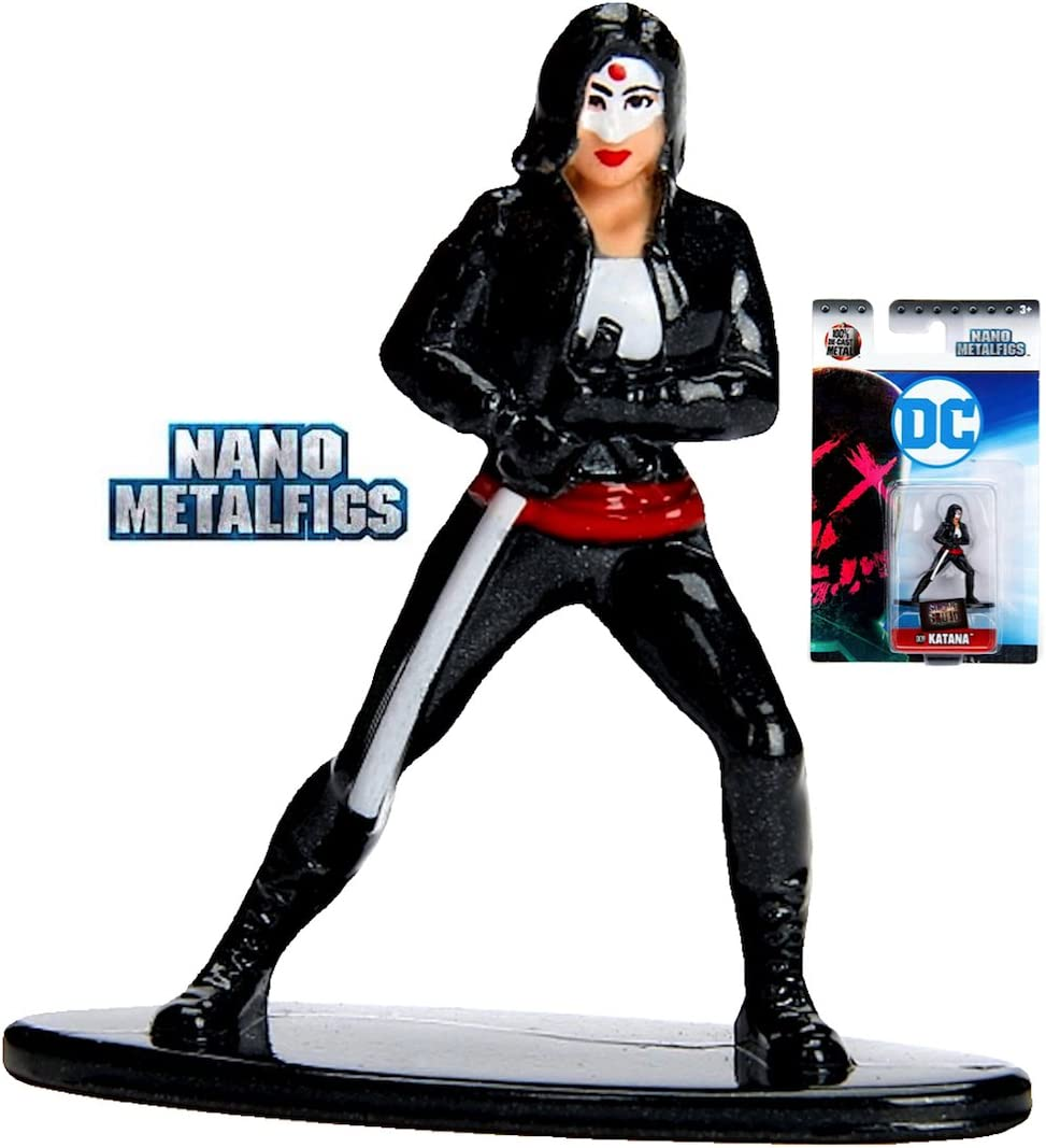 Nano Metalfigs DC Comics Suicide Squad Katana DC19