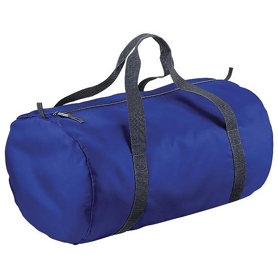 BagBase Packaway - Sac de voyage (32 litres) (Taille unique) (Vert olive/Noir) I8LhfIWx