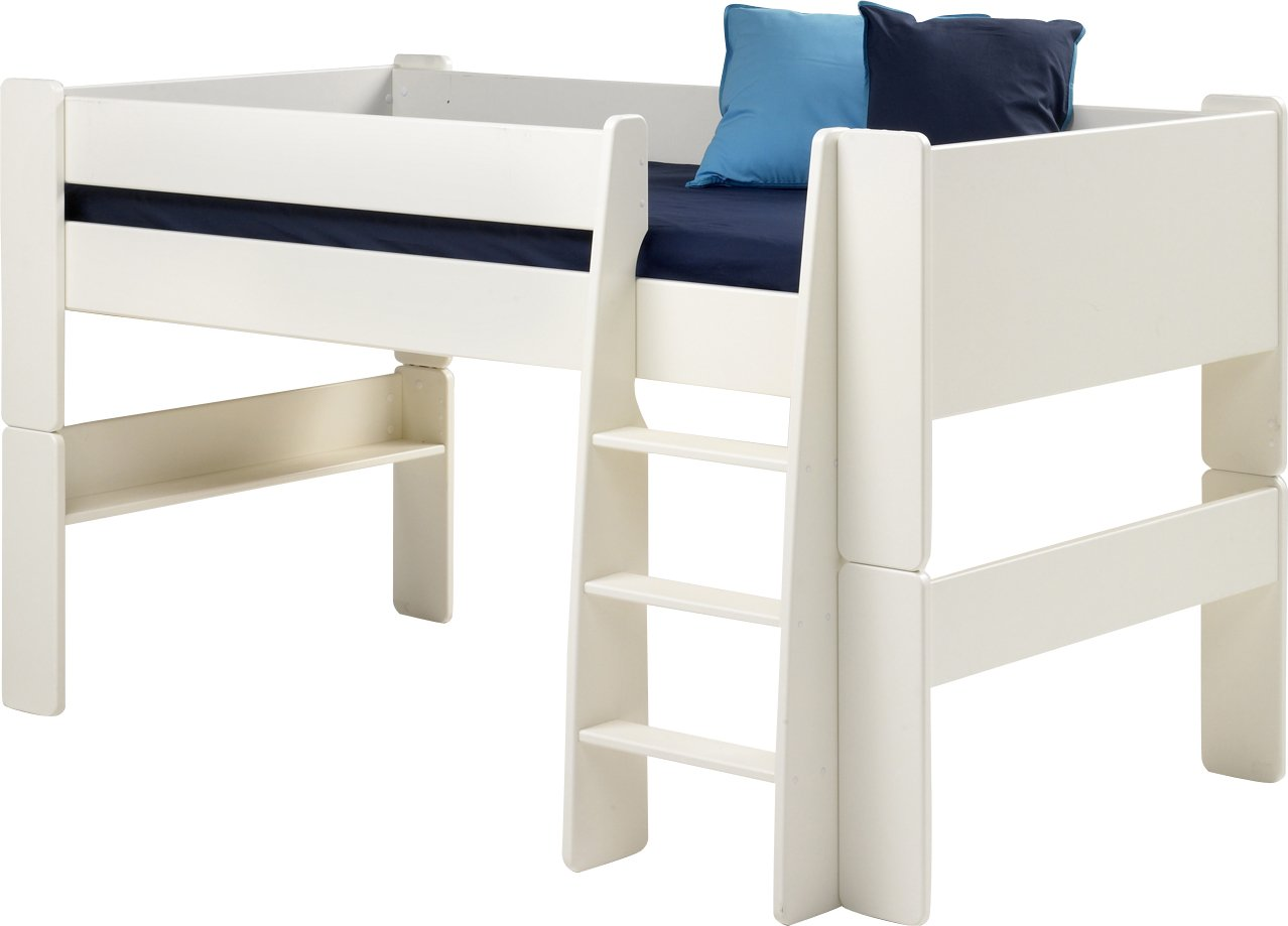 4908f9adccb Steens 290613350 Kids Mid-Sleeper Frame Bed with Ladder