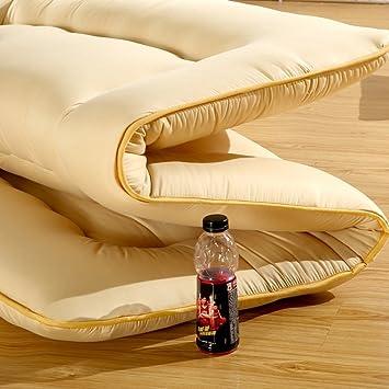 PIFGEDTGVC Colchón Extra Grueso/colchón Tatami/colchón Plegable/colchones Dormitorio Estudiante/la Sola Estera es-D 90x200cm(35x79inch): Amazon.es: Hogar