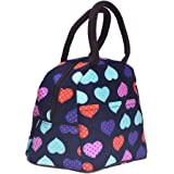 Outus Love Heart Lunch Tote Bag for Work, School and Travel