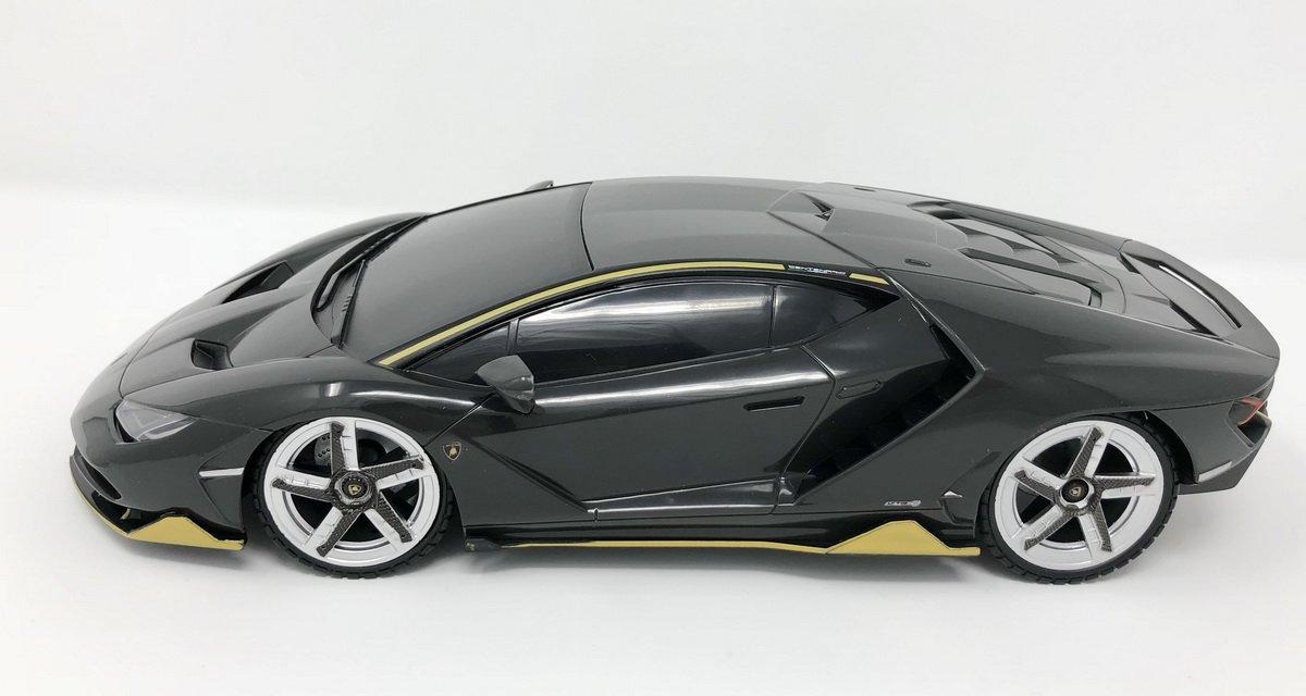Gray 2.4Ghz 1//18 Scale Lamborghini Centenario Radio Remote Control Sport Racing Car RC