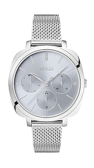 Hugo Boss Reloj Multiesfera para Mujer de Cuarzo con Correa en ...