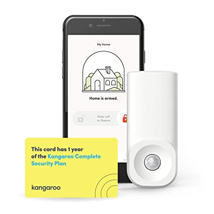 Kangaroo Home Security Motion Sensor: Wireless WiFi Motion Detector -  App-Based - Insurance Home Security System, Office or Any Sensitive  Location