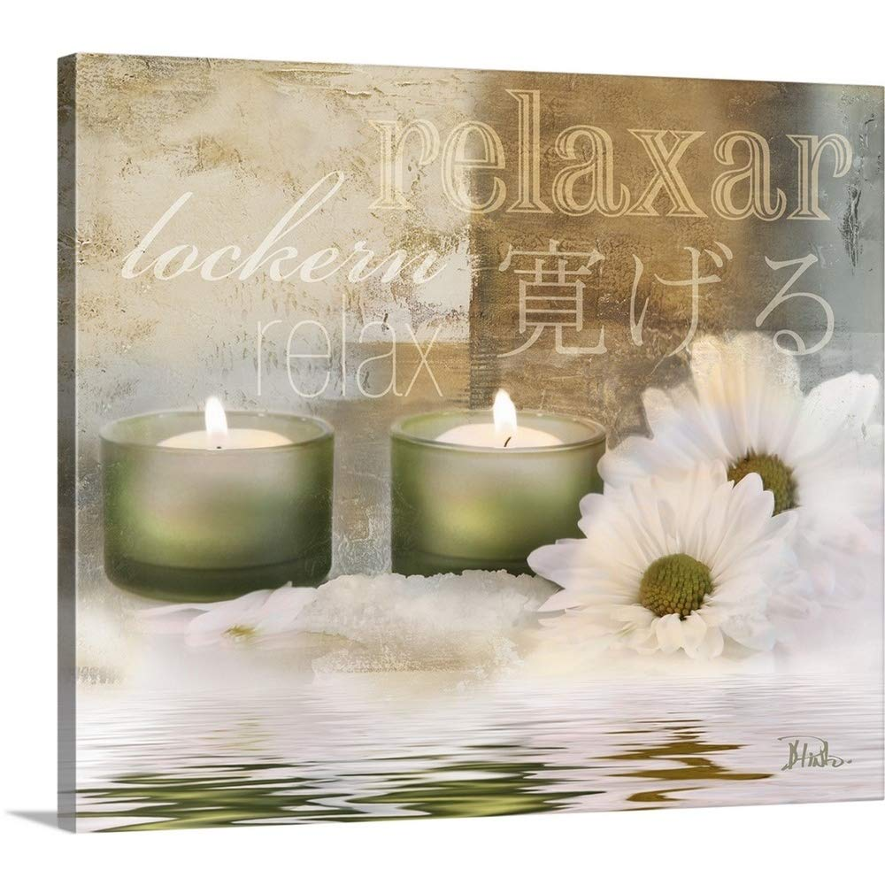 Patricia Pinto Premium Thick-Wrap Canvas Wall Art Print entitled Relaxation I 24''x20''