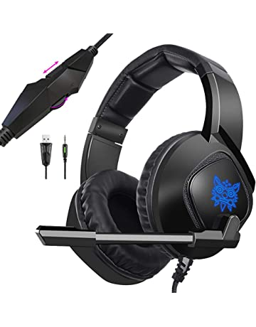 ONIKUMA Xbox One Headset Wired Stereo Gaming Headset for PS4/PC/Xbox One Controller