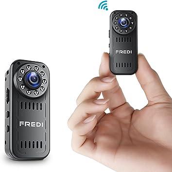 FREDI IP Hidden Mini Camera 1080P HD Wifi Camera Spy Indoor Security Camera