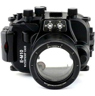 carcasa submarina para cámara Fujifilm X-M1 16-50mm: Amazon ...