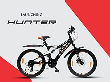 90e50c03bae58 Buy Kross Hunter 24T Junior Dish Break Cycle with 21 Speed Gear for a New  Generation Online at Low Prices in India - Amazon.in